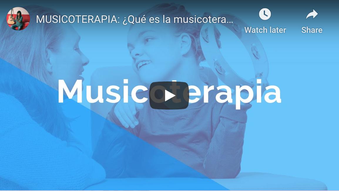 Cursos de musicoterapia en Videos