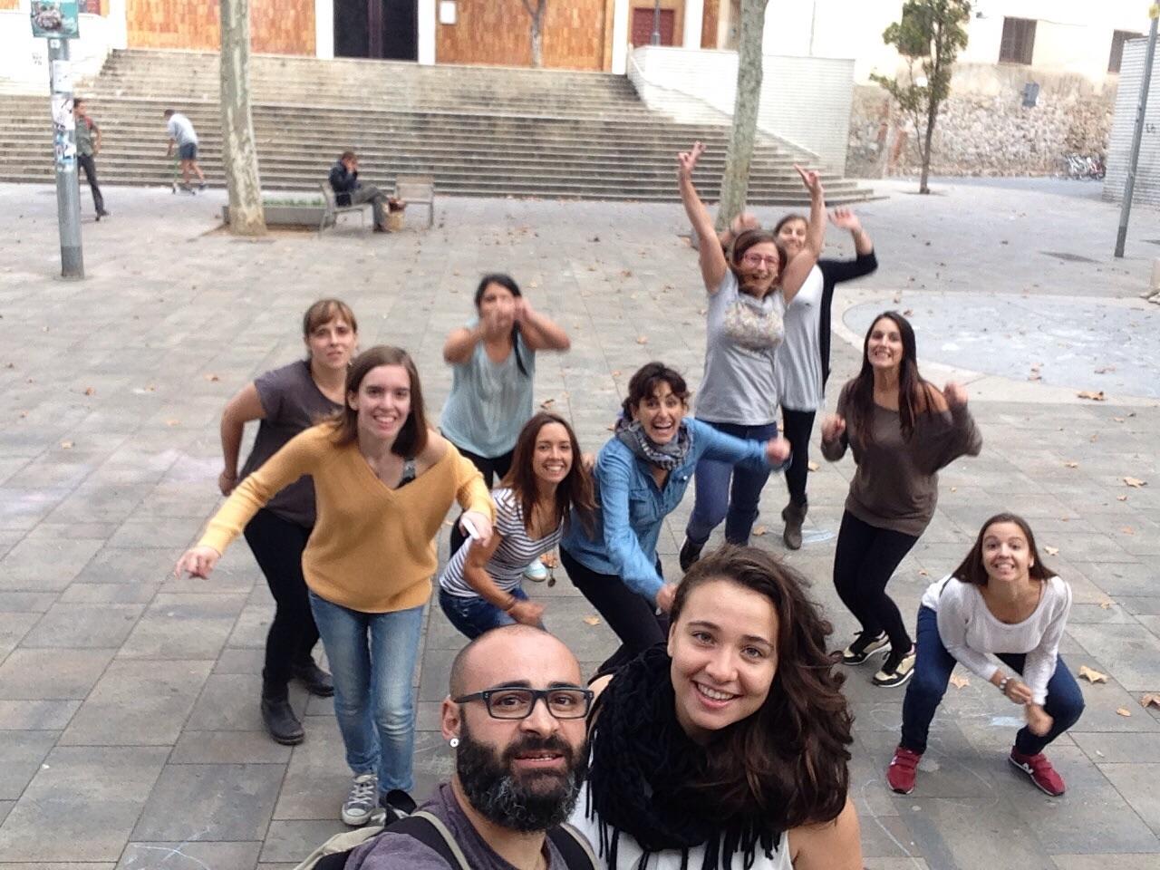 Alumnos de nuestros cursos de musicoterapia infantil en barcelona