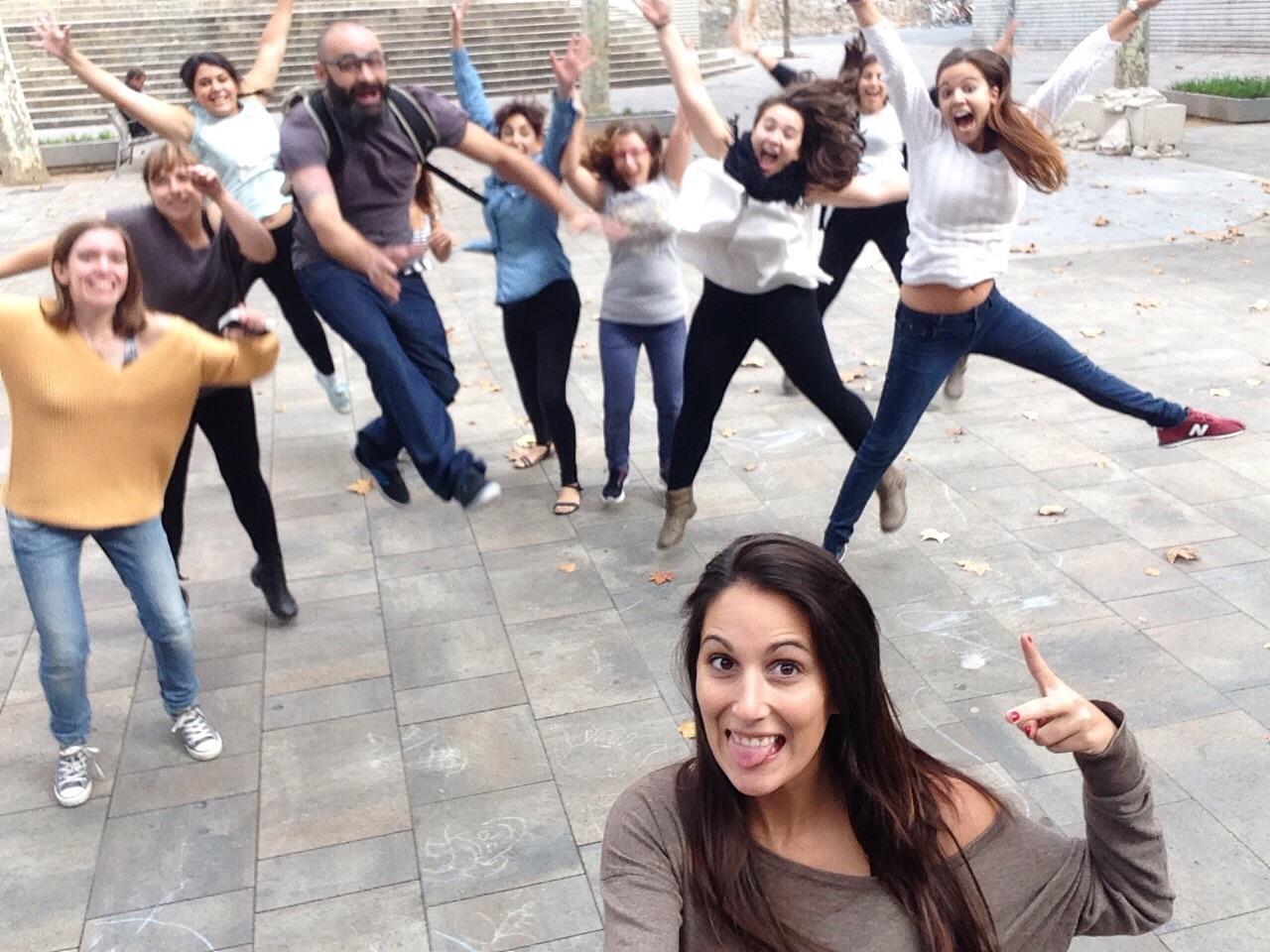 Alumnos del curso de musicoterapia Infantil en Barcelona
