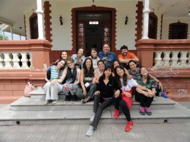 Grupo de alumnos del Laboratorio de Musicoterapia