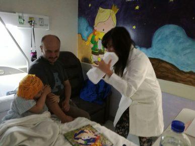 La musicoterapia en hospitales infantiles