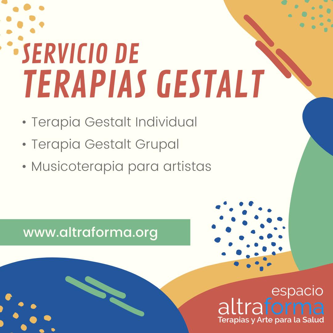 Terapia gestalt y musicoterapia para artistas