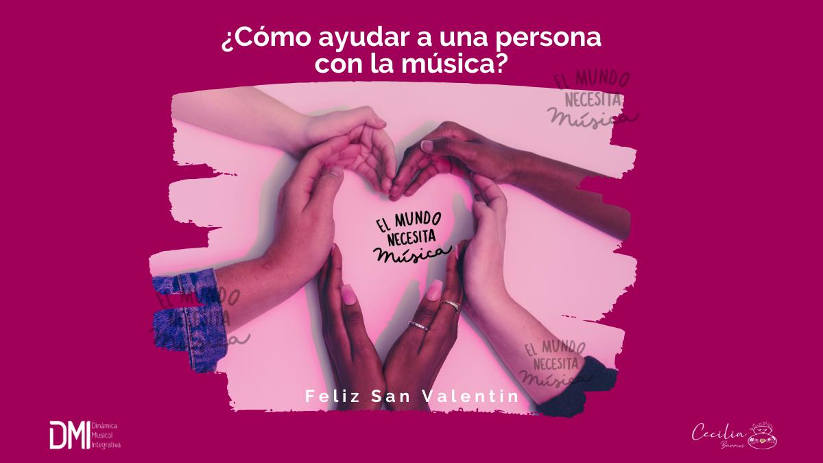 ¿Cómo ayudar a una persona con la música?