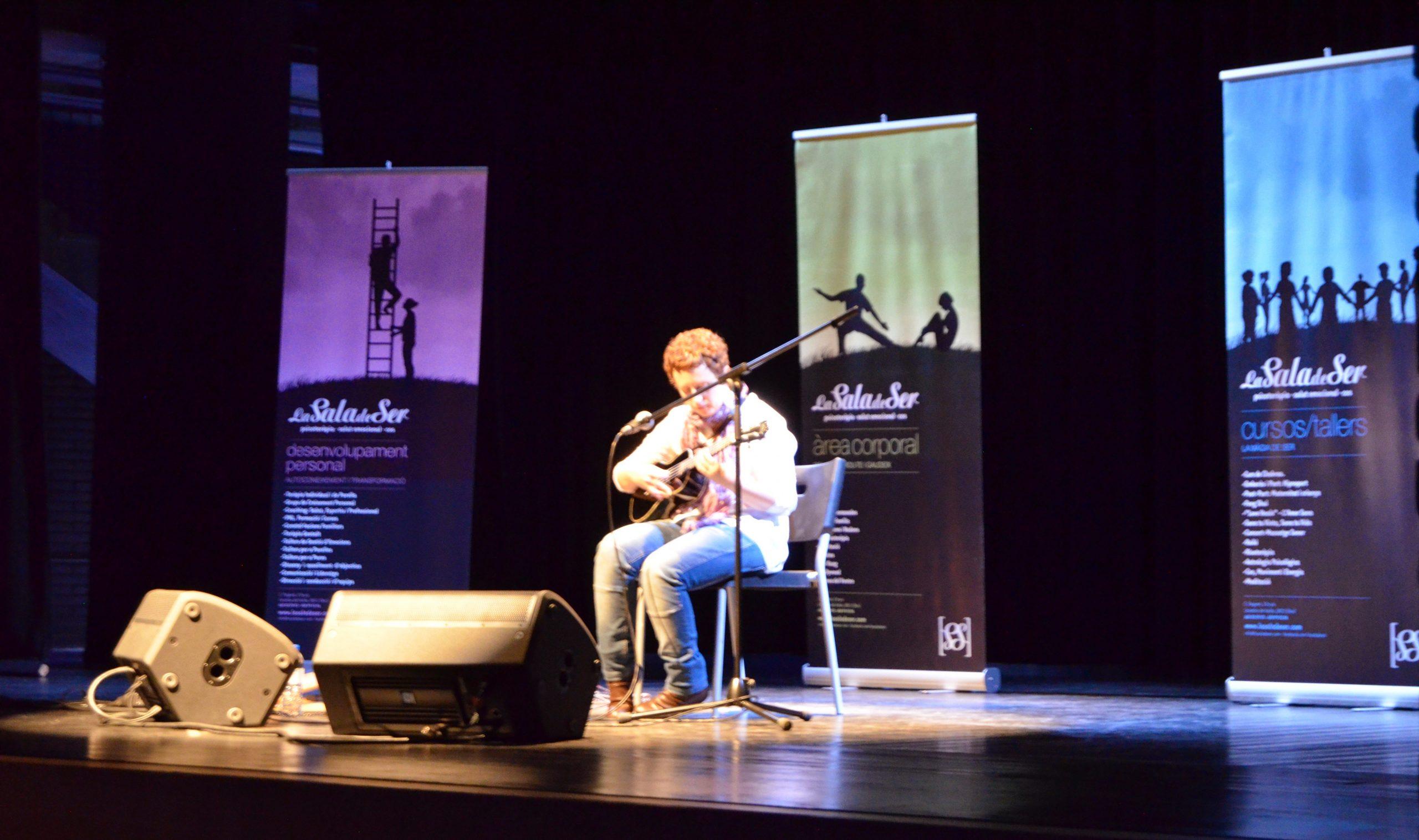 Musicoterapeuta Silvia Gallego