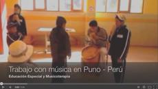 Musicoterapia en Puno, Perú