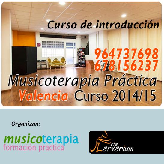 Nuevo curso de musicoterapia en Valencia