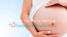 Artículos de musicoterapia para embarazadas