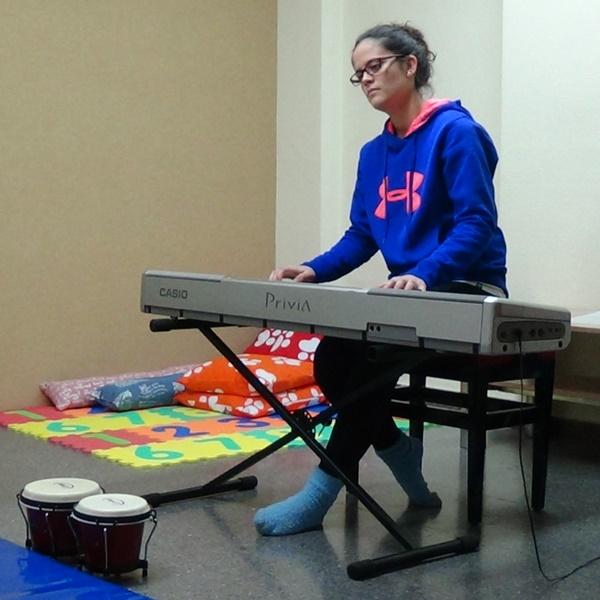 Musicoterapeuta María García