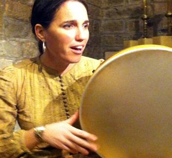 La musicoterapeuta Núria Cervera.