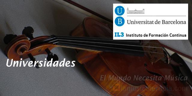 Aquí puedes estudiar musicoterapia en Barcelona