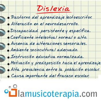 musicoterapia y dislexia